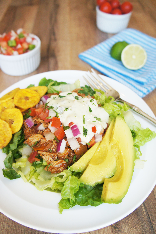 burrito chicken bowls dressing cooker slow bowl creamy lime cilantro recipe burritos recipes paleo whole30 livinglovingpaleo