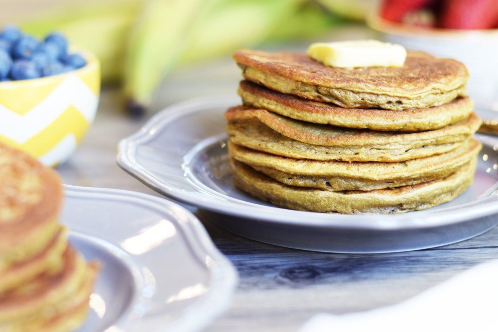 Flourless Plantain Pancakes