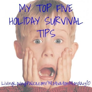 top five holiday survival tips