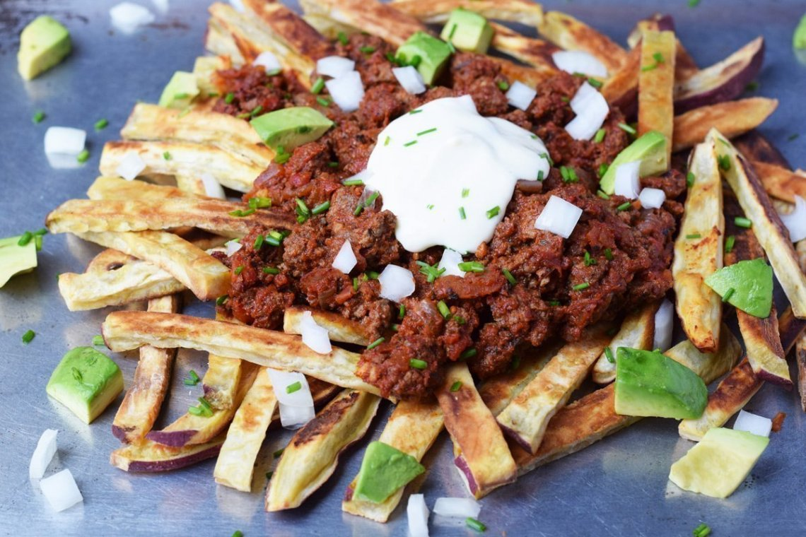 Loaded Chili Fries