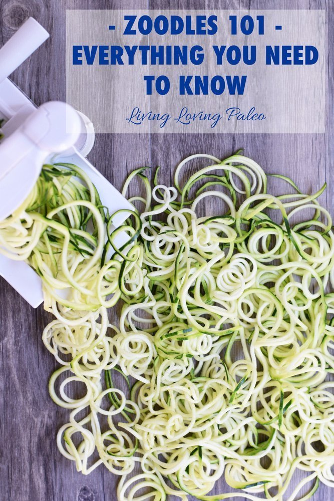 Zoodles 101 - Everything You Need To Know