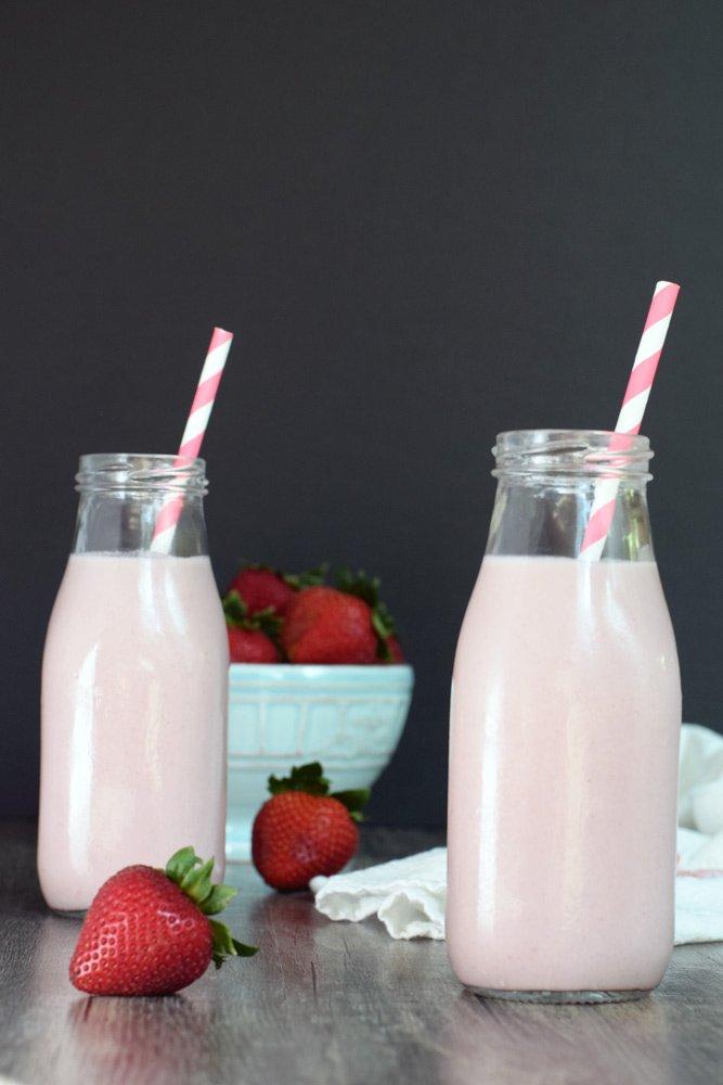 Dairy-free Strawberry Milk