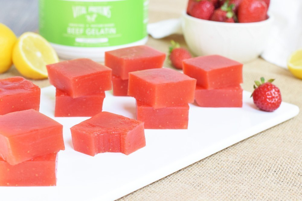 Strawberry Lemonade Gummies