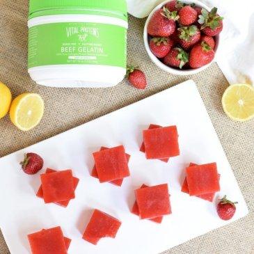 Strawberry Lemonade Gummies
