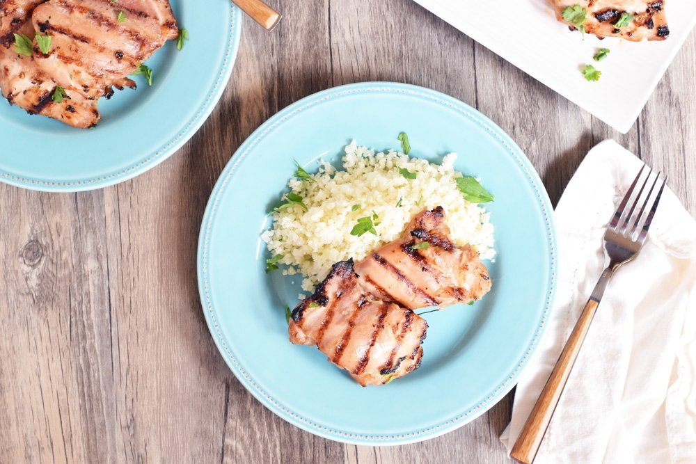 Grilled Teriyaki Chicken