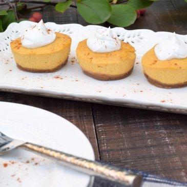 Pumpkin Pie Cheesecake (No-bake & Dairy-free!)