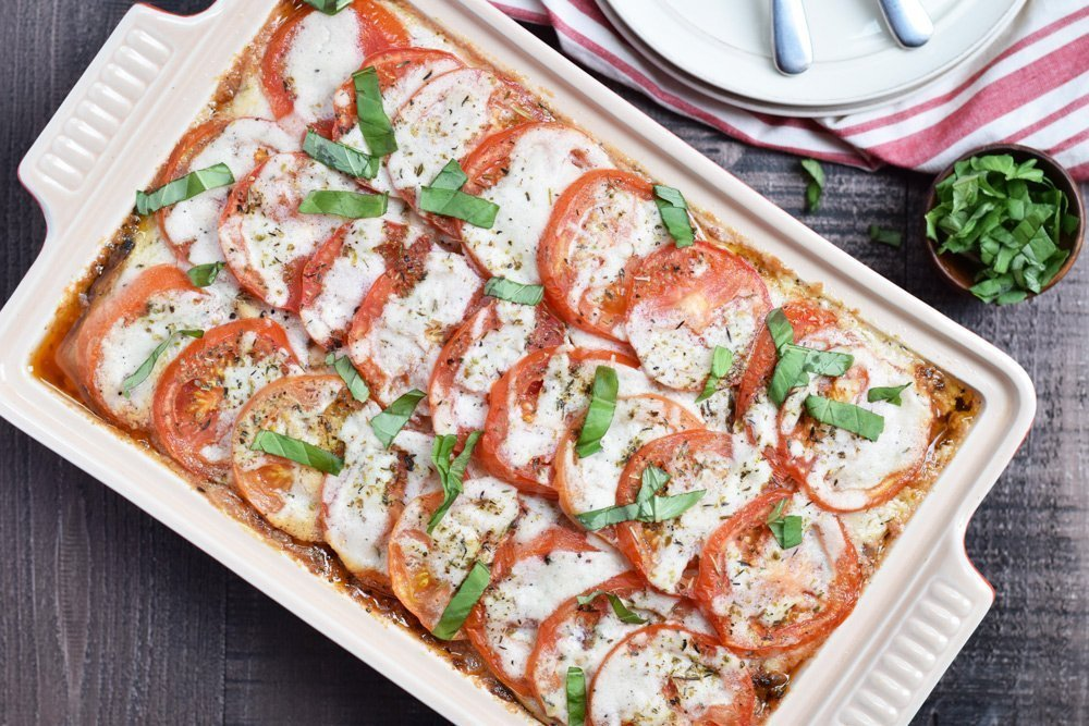 Eggplant Lasagna + Fed & Fit 28-Day Food & Fitness Guide Book Review