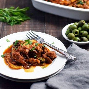 Slow Cooker Meatza-Mess