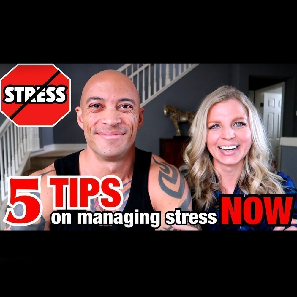 Five Tips For Managing Stress (VIDEO!)