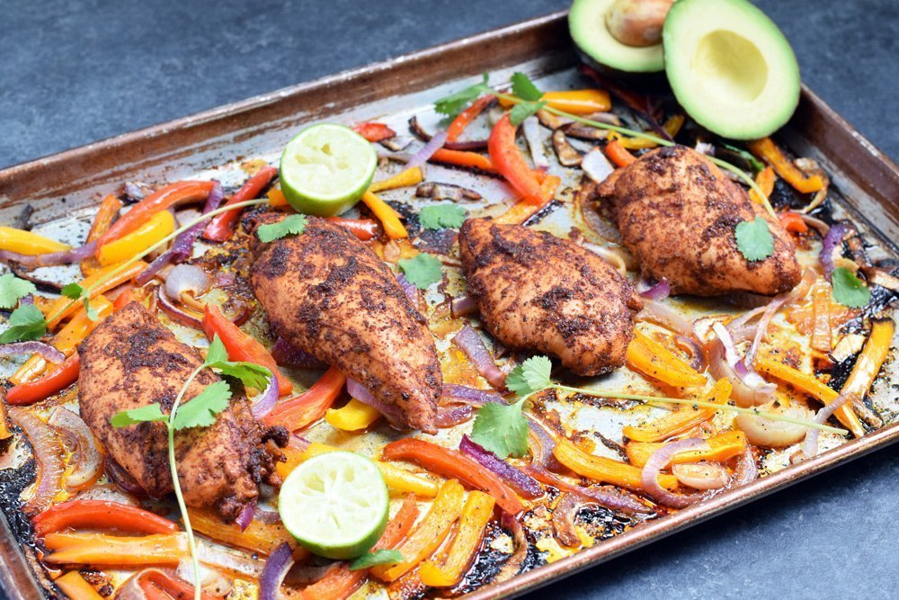 Chicken Fajita Sheet Pan Dinner