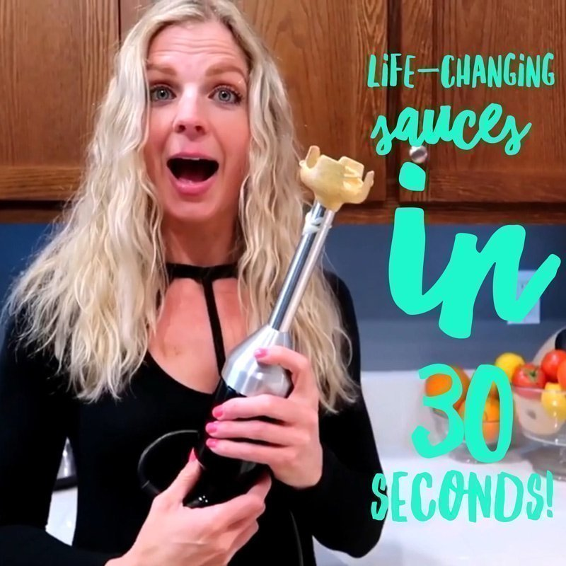 Life-Changing Sauces in 30 Seconds (VIDEO!)