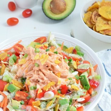 Buffalo Chicken Chopped Salad