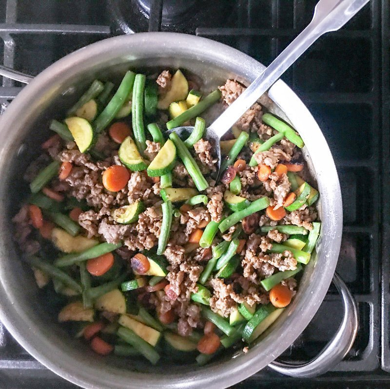 15-Minute Pork Stir-fry