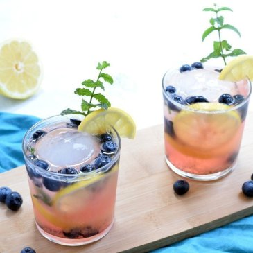 Lemon Blueberry Smash