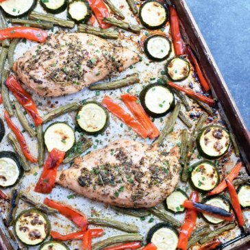 Italian Chicken Sheet Pan Dinner