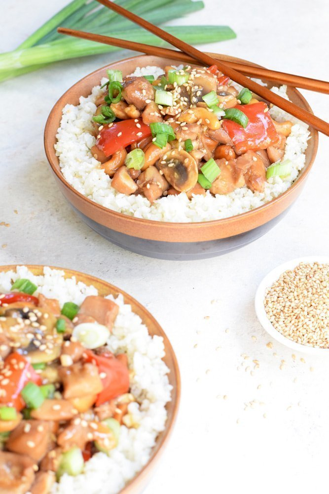 Instant Pot Cashew Chicken