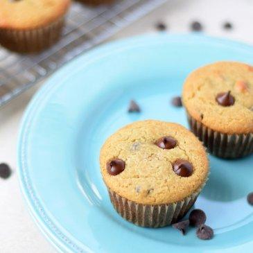 Vanilla Chocolate Chip Muffins