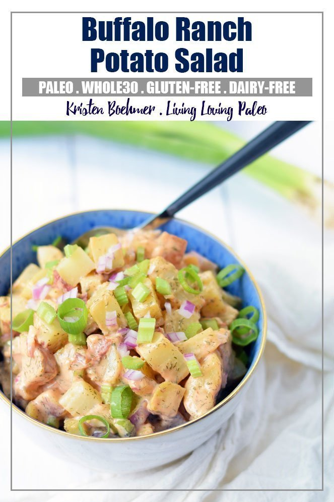 Buffalo Ranch Potato Salad