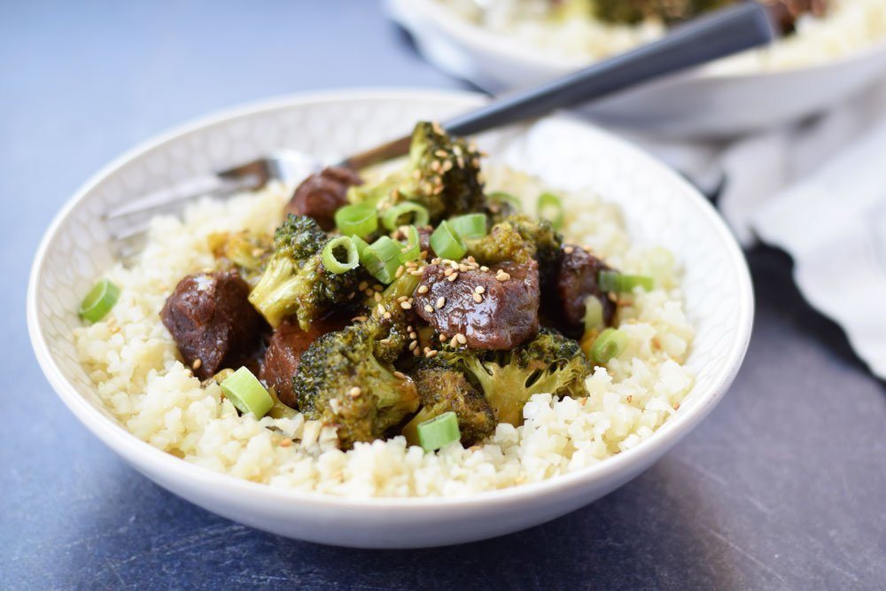 Instant Pot Beef & Broccoli