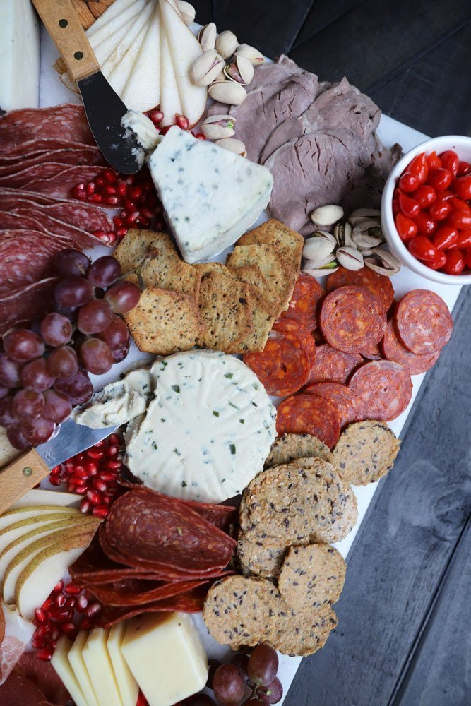 Epic Gluten-free Charcuterie Board & Holiday Entertaining