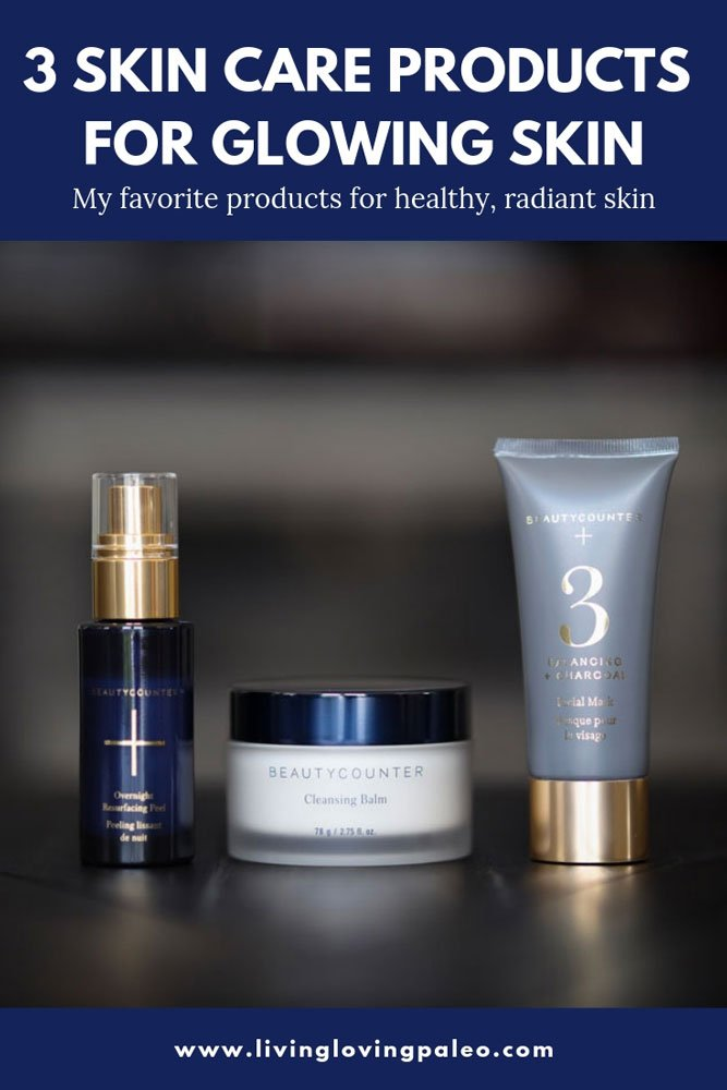 Is your skin looking dry, dull, or anything less than fabulous & amazing? Here are 3 skin care products for glowing skin I use on almost a daily basis! #skincare #beautyproducts #beautycounter