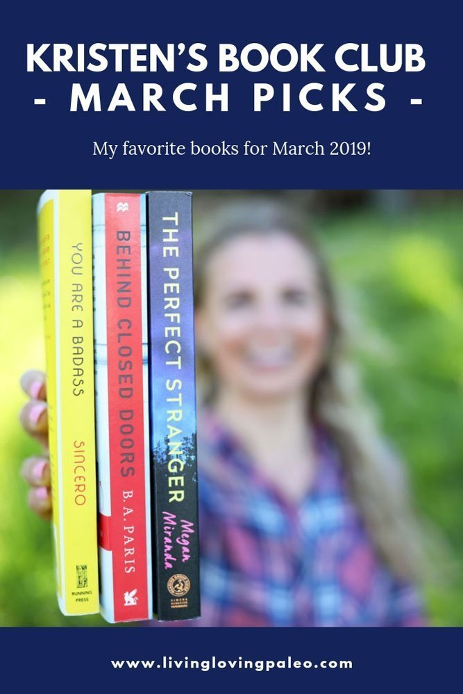 My series, Kristen's Book Club, is back! Take a look at my March 2019 Reading List and my next book recommendations and there's even some re-reads. #kristensbookclub #march2019readinglist #books