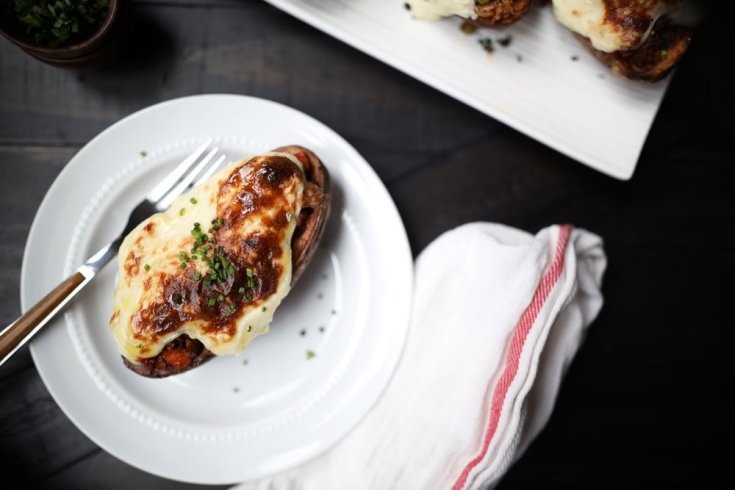 Shepherd's Pie Twice-Baked Potatoes