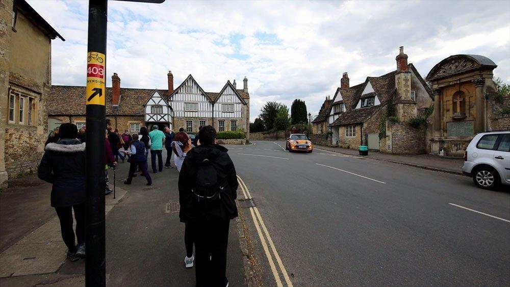 Visiting LaCock England