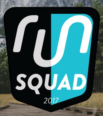 Yay! I am on the Run Gum #RunSquad2017