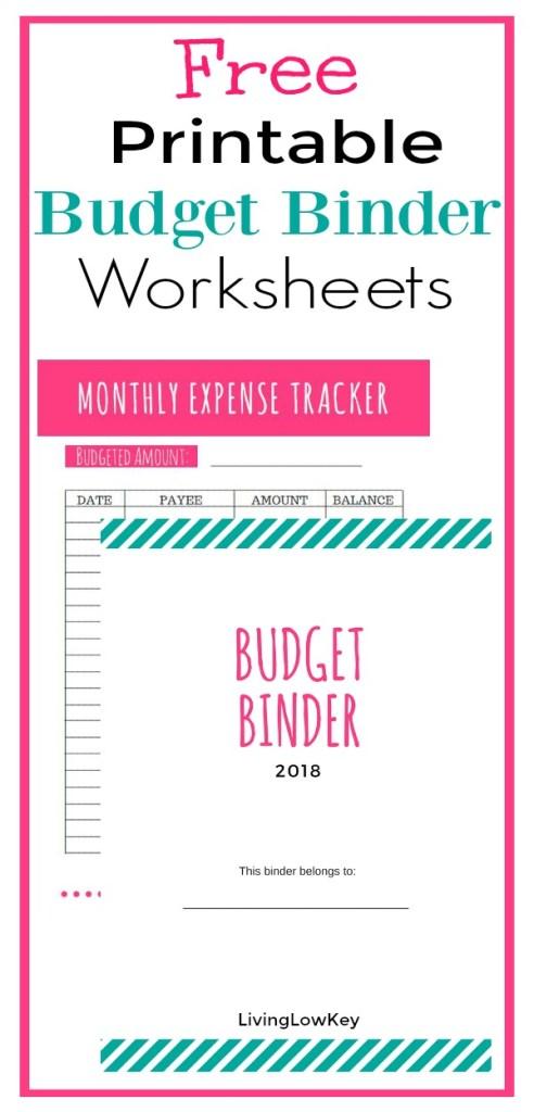 free budget binder printables make saving money easy