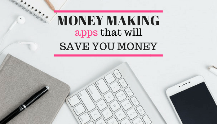 Save money with the 9 unique phone apps. I really love the first one on this list and use it weekly to save money. I'm so glad I found these money saving phone apps! They really help me stick to my budget.