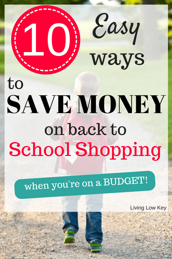 Are you ready for back to school shopping? Wanting to save on your back to school list? Here are 10 of the best tips to help you save on back to school deals by shopping the back to schools sales on a budget. You won't want to miss these hacks!