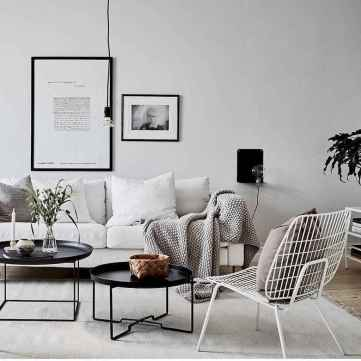 100 inspiring modern living room scandinavian decoration for your home (20)