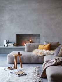 100 inspiring modern living room scandinavian decoration for your home (38)