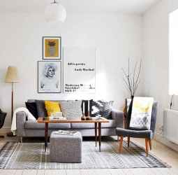 100 inspiring modern living room scandinavian decoration for your home (85)