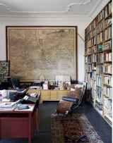 17 great vintage office room ideas remodel (4)
