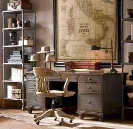 17 great vintage office room ideas remodel (7)