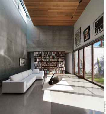 25 stunning home libraries with scandinavian style (19)