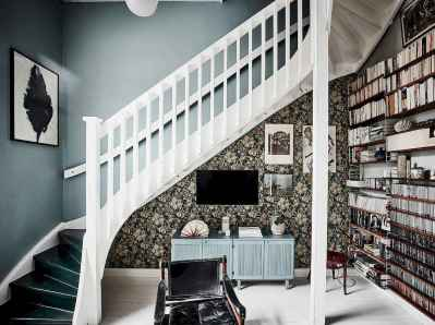 25 stunning home libraries with scandinavian style (22)