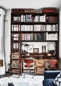 25 stunning home libraries with scandinavian style (60)