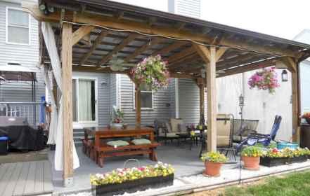 25 top patio rustic ideas (17)