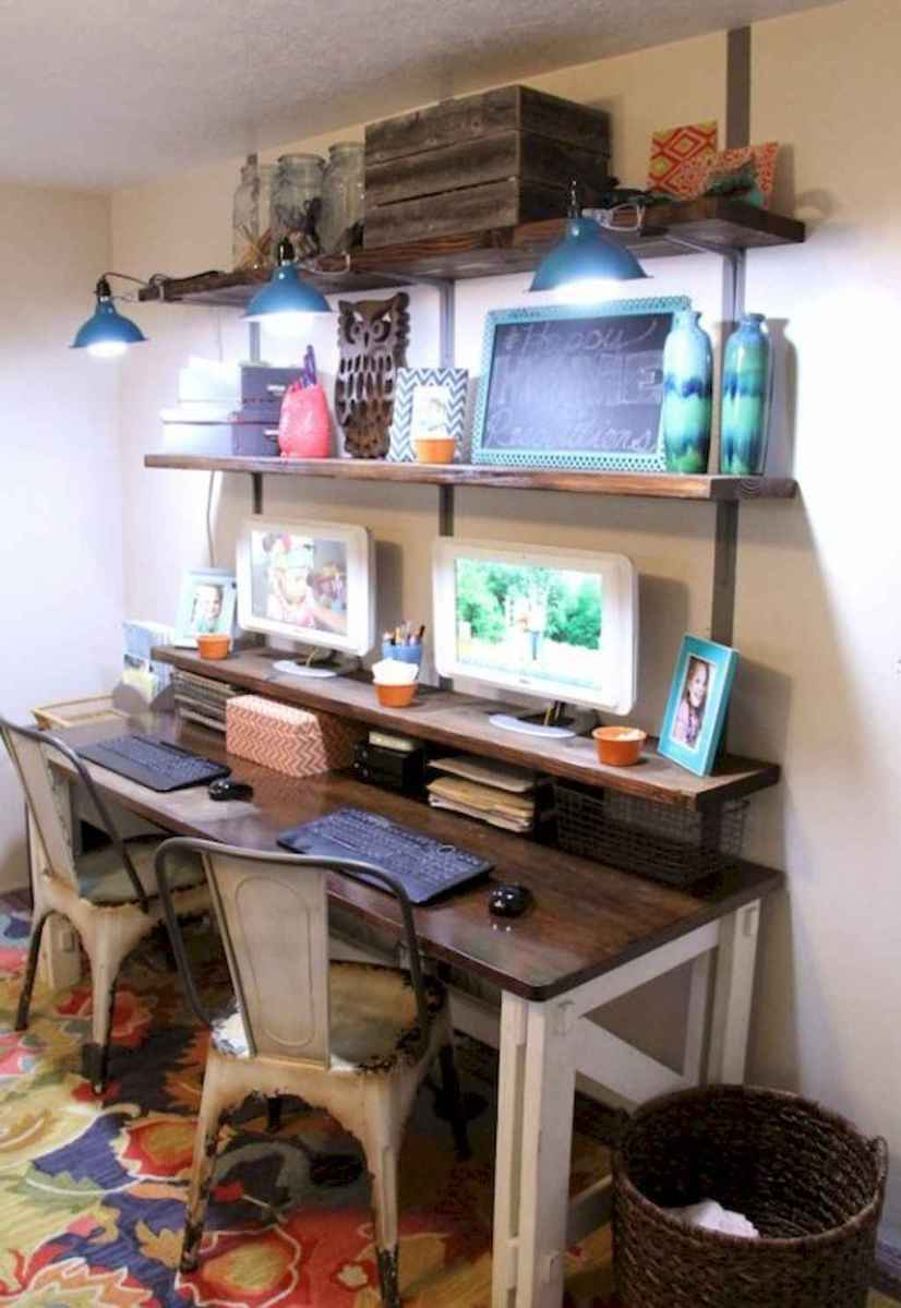 30 amazing rustic home office ideas (18)