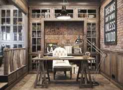 30 amazing rustic home office ideas (28)