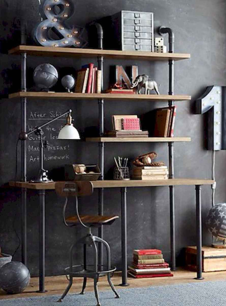 30 amazing rustic home office ideas (29)