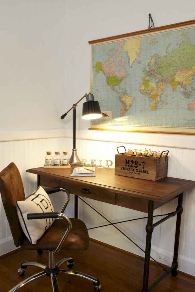 30 amazing rustic home office ideas (30)