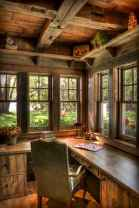 30 amazing rustic home office ideas (4)