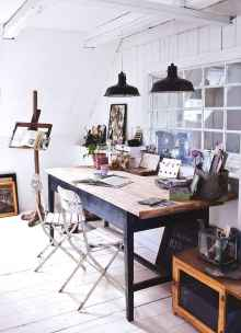 30 amazing rustic home office ideas (6)