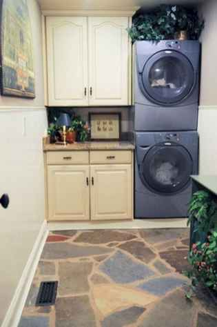 40+ beautiful rustic laundry room design ideas for your home (40)