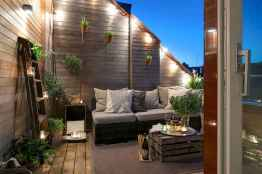 50 scandinavian porch makeover and a relaxing date night on the deck (23)