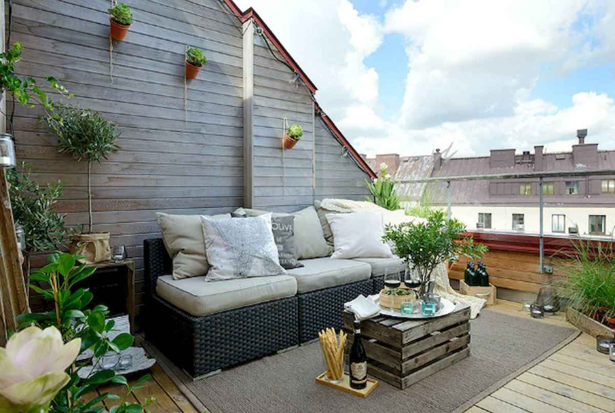 50 scandinavian porch makeover and a relaxing date night on the deck (25)